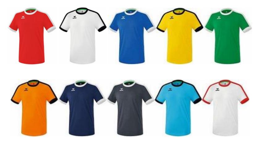 Dres Retro Erima barvni - SMZ ponudba mali nogomet