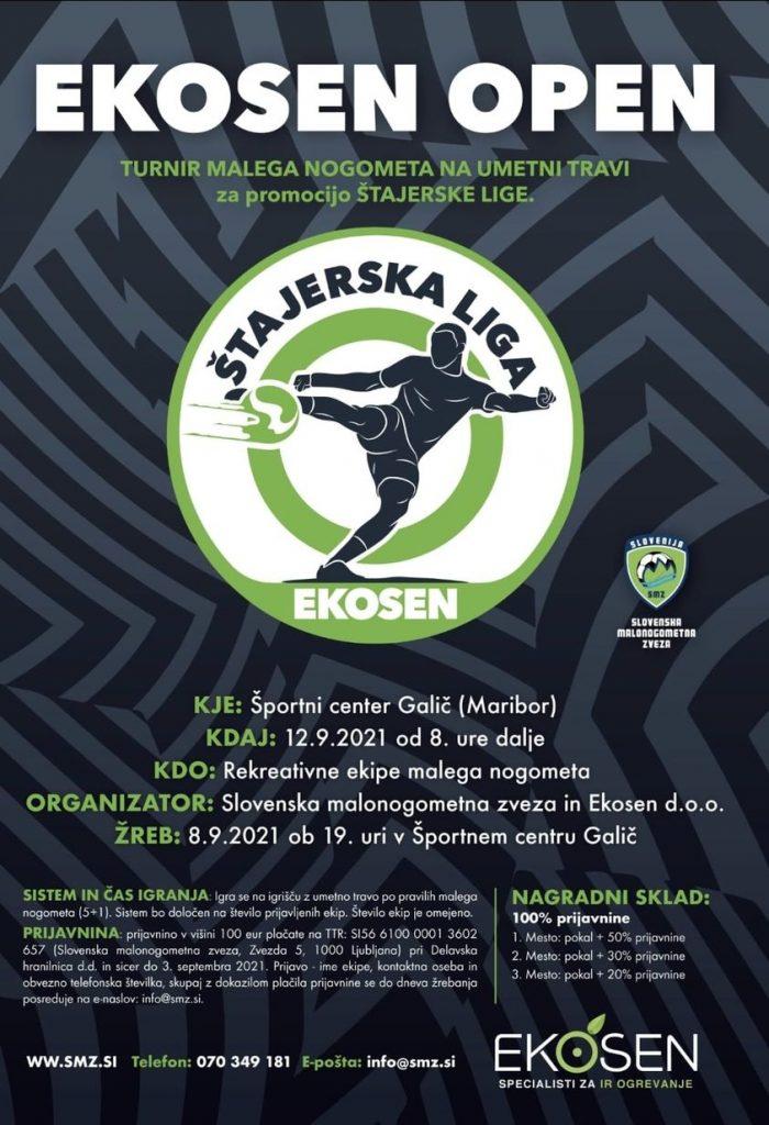 Ekosen Open-turnir v malem nogometu na umetni travi za promocijo Štajerske lige 2021-SMZ-final