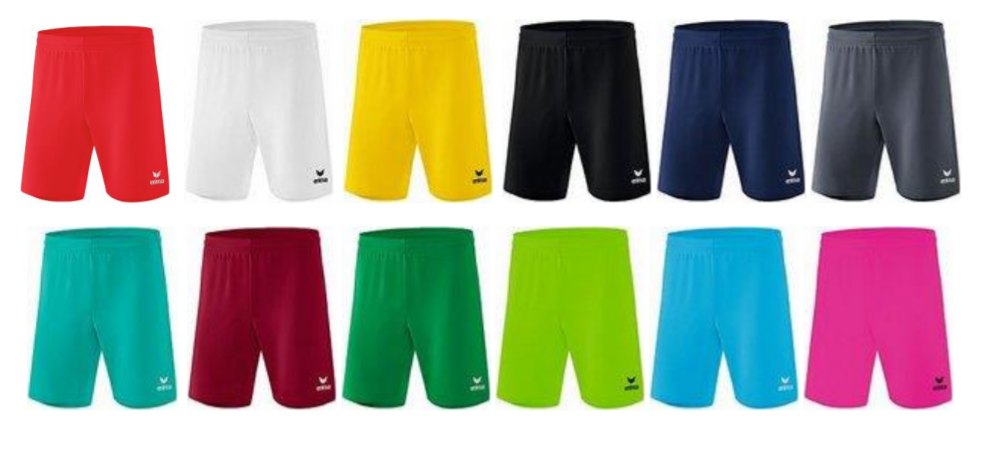 Hlačke Rio 2.0 Erima barvne - SMZ ponudba mali nogomet