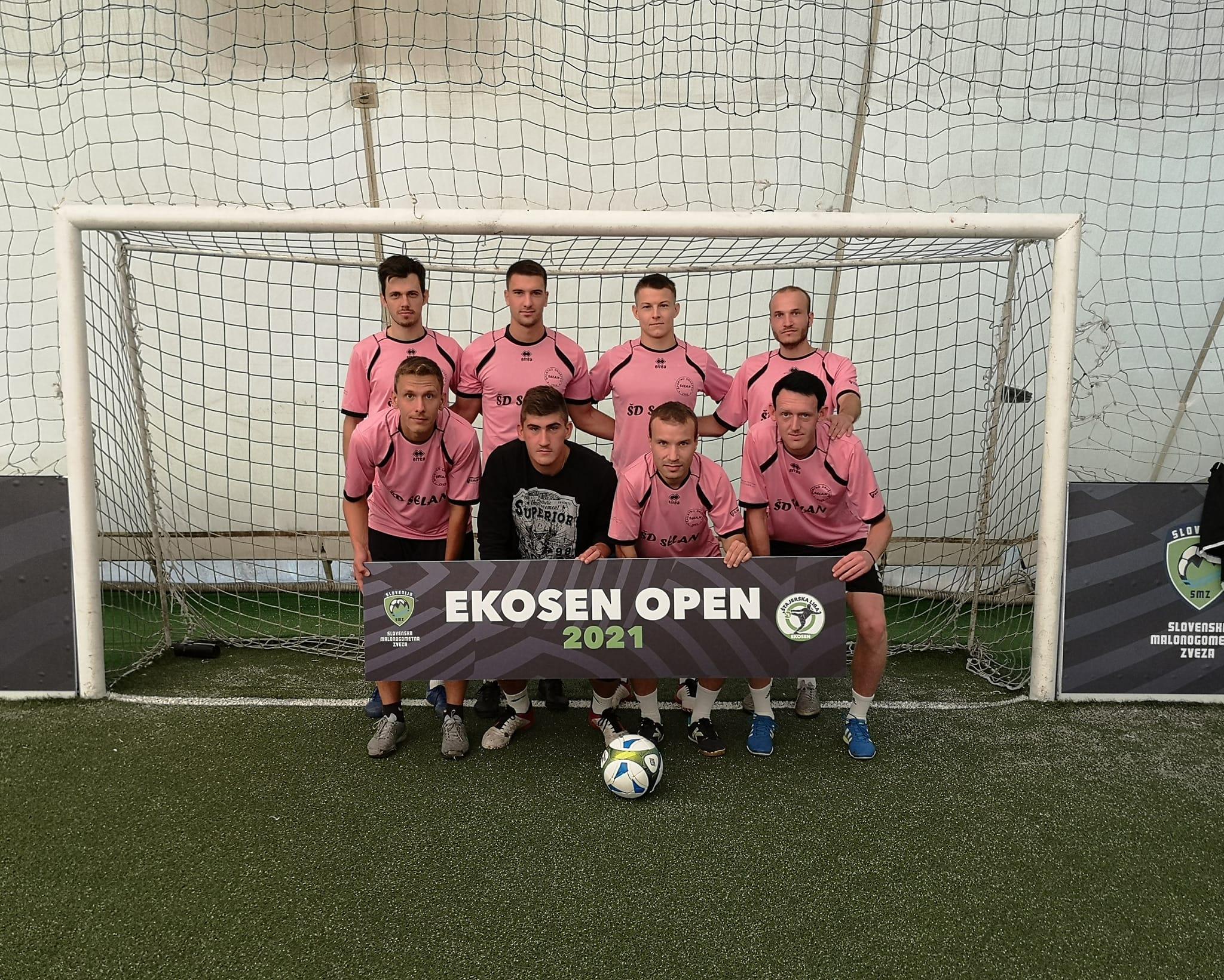 ŠD Selan-Ekosen Open turnir-2021